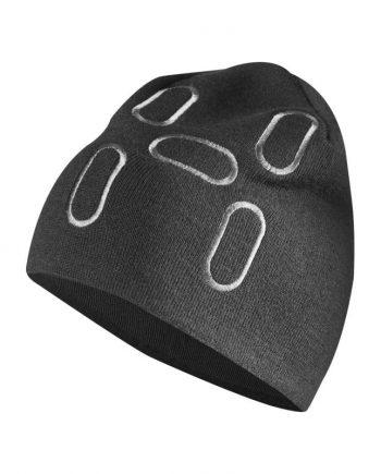 haglöfs-logo-beanie-True black/magnetite