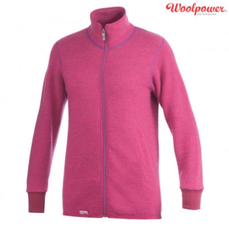 Woolpower Full Zip Jacket 400g Cerise:Purpule