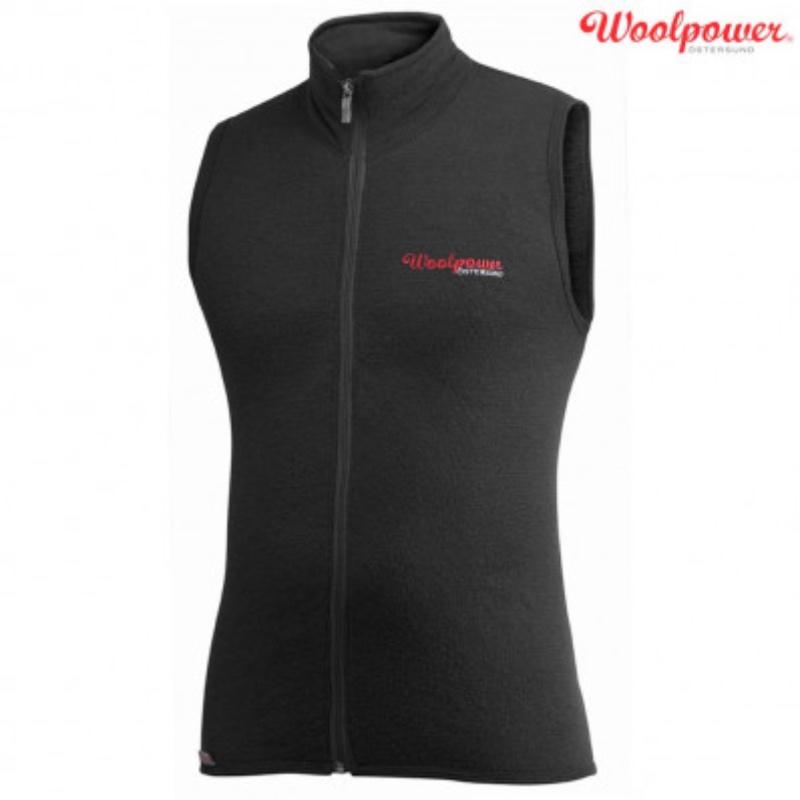 Woolpower Full Zip West 400g Black
